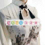 ロリィタワンピース チャイナドレス 長袖 チャイナインク 龍 ―Lolita0017 4