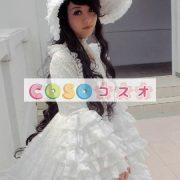 女性のための白いレースのロリータ ドレス ―Lolita0064 4