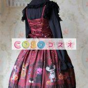 甘い弓シフォン カントリーロリータ ドレス ―Lolita0266 4