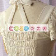 女性の白いフリルの付いたシフォン カントリーロリータ ドレス ―Lolita0427 4