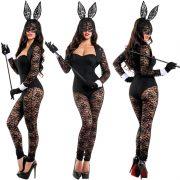 Bunny Costumes レース セクシー ハロウィン コスプレ衣装 ナイトクラブ 制服-Halloween-trw0725-0036 4