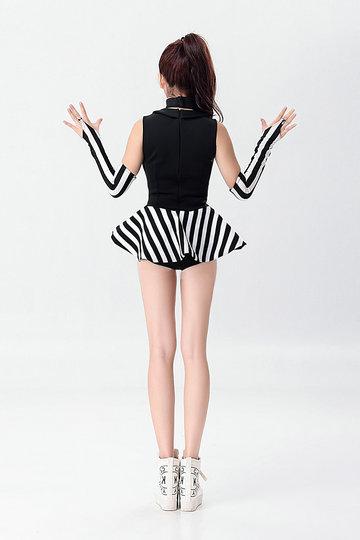 マジシャン/ ジャズダンス/ 制服 パーティー服 コスチューム コスプ-Halloween-trw0725-0447