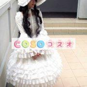 女性のための白いレースのロリータ ドレス ―Lolita0064 5