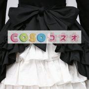 ゴシック ブラック ロリィタワンピース 長袖 フリル ―Lolita0088 5