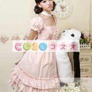 甘いスクエア ネック ピュア コットン カントリーロリータ ドレスをフリルします。 ―Lolita0297 5