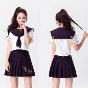7カラーからお選びます 【ハロウィン】セーラー服 コスプレ 制服 女子高生 ブレザー ハロウィン S M L XLサイズあり-Halloween-trw0725-0066 5