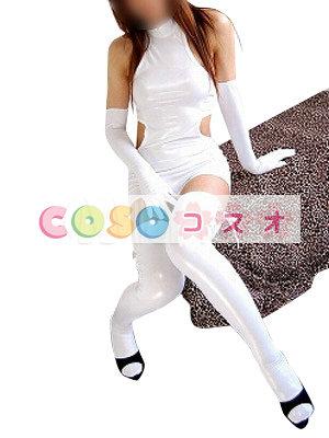きわどい露出のセクシーコスチューム ボディ‐コン―taitsu-tights0595