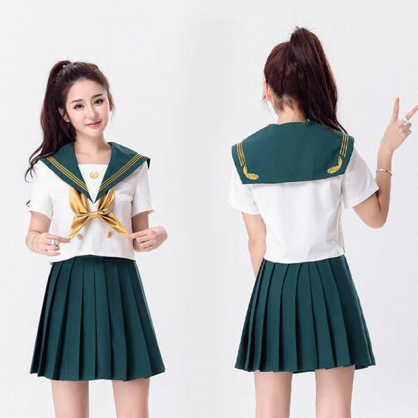 7カラーからお選びます 【ハロウィン】セーラー服 コスプレ 制服 女子高生 ブレザー ハロウィン S M L XLサイズあり-Halloween-trw0725-0066