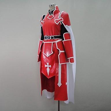 ソードアート・オンライン アスナ 血盟騎士団 コスプレ衣装-hgssotoa0061