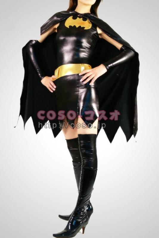 スーパーマン メタリック バットウーマン マント付き―8taitsu0007