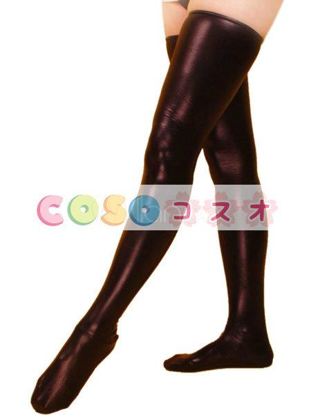 ストッキング,全身タイツアクセサリー ブラウン コスチューム 仮装パーティー セクシー―taitsu-tights0491