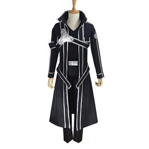 ソードアート キリト 桐ヶ谷 和人 血盟騎士団 コスプレ衣装-hgssotoa0033
