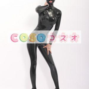 コスチューム衣装 全身タイツ メタリック ブラック レオタード 大人用 女性用 ―taitsu-tights0119