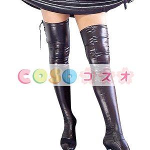 ストッキング,全身タイツアクセサリー セクシー ブラック レースアップ コスチューム 仮装パーティー―taitsu-tights0623