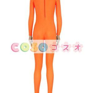ライクラタイツ オレンジ色 ライクラ・スパンデックス 大人用 女性用 ノベルティ ―taitsu-tights1564