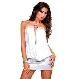 ドレス,ロングドレス セクシー カラーブロック アシンメトリードレス コスチューム-halloween-trz0725-0129