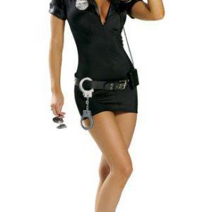 Traffic Cop Costume 制服 警官 警察 女性 コスプレ-Halloween-trw0725-0007
