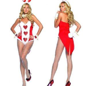 3色の選択肢があります バニーガール コスプレ衣装 メイド服 ウサギ うさ耳-Halloween-trw0725-0025