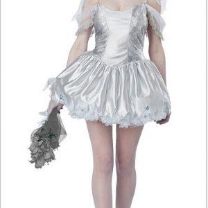 ハロウィン お花嫁 鬼新娘 幽霊 コスチューム衣装 鬼魔女 悪魔 ゾンビ 変装 仮装 レディース 魔女っ子 女性 コスプレ 大人用 学園祭 パーティー服 吸血鬼 ヴァンパイア 変装 仮装 衣装 舞台服-Halloween-trw0725-0142