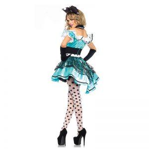 新作 不思議の国のアリス  ハロウィン コスプレ衣装 cosplay 舞台演出服-Halloween-trw0725-0509