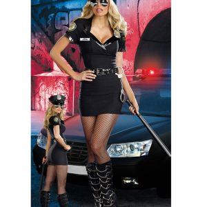 ハロウィン 制服 セクシー 婦人警官 コスプレ-Halloween-trw0725-0009