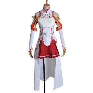 ソードアート アスナ 結城明日奈(ゆうき あすな) 戦闘服 コスプレ衣装-hgssotoa0010