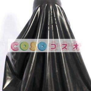 ラテックスドレス,ブラック コスチューム コスプレ 仮装パーティー―taitsu-tights0274