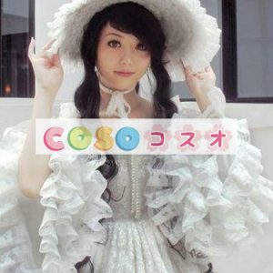 女性のための白いレースのロリータ ドレス ―Lolita0064