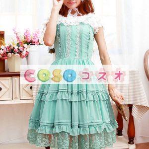 コルセット 可愛い シフォン パーティー  ―Lolita0572