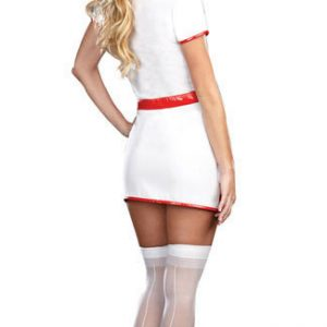 Nurse Costumes 看護婦 コスプレ cosplay 制服 セクシー ハロウィン衣装 看護師 白衣-Halloween-trw0725-0090