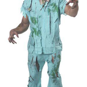 Doctor Scrubs Costume ハロウィン コスプレ衣装 ナース服 ナイトクラブ-Halloween-trw0725-0100