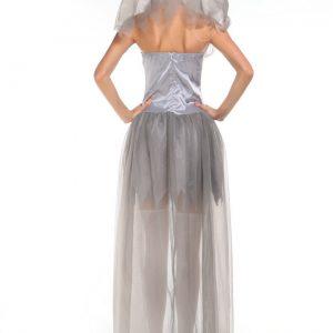 ハロウィン コスプレ衣装 お花嫁 鬼新娘 死体 女性 大人用 魔女っ子-Halloween-trw0725-0152
