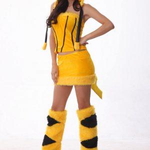 ハロウィン コスプレ コスチューム 衣装 仮装  ハロウィーン ピカチュウ-Halloween-trw0725-0237