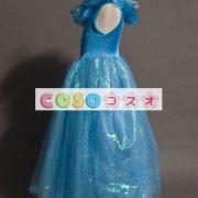 ハロウィン シンデレラ ドレス 大人用 ブルー プリンセス コスチュームコスプレ―festival-0015 4