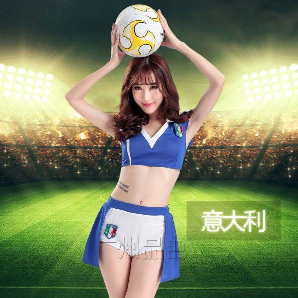 サッカー 応援団 チアガール 舞台演出服  ステージ衣装 新作-Halloween-trw0725-0368