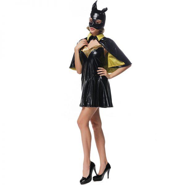 ハロウィン仮装 演出服蝙蝠 バットマン スーパーマン バット パーティー ハロウィン衣装 ハロウィーン衣装 女性用 大人用 舞台 イベント クリスマス コスプレ衣装 学園際 Halloween 文化際-Halloween-trw0725-0513