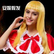 赤ずきんちゃん かつら 靴 ハロウィン コスプレ-Halloween-trw0725-0071 7